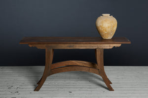 Teak Raffle Table