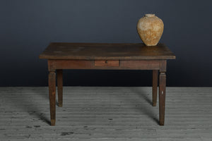 19th century Dutch colonial Teak Raffles Desk