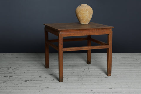 19th Century Chinese Colonial Teak Table from Jakarta