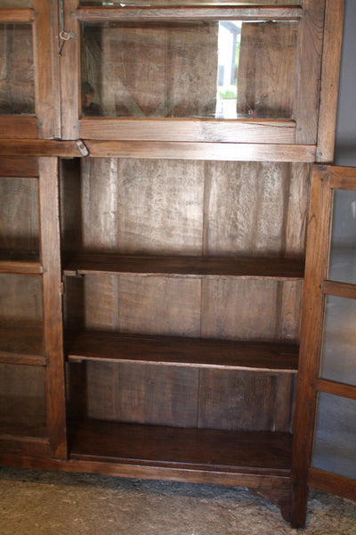 4 Door Dutch Colonial Teak Cabinet