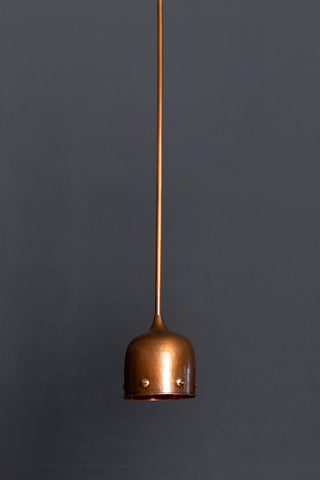 Hanging Small Copper Pendant Light