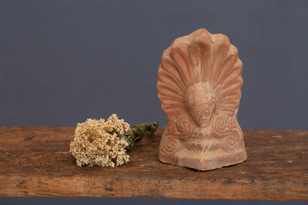 19th Century Greek Terra Cotta Akroteria