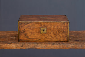 19th Century Satin Wood China Trade Writing Desk