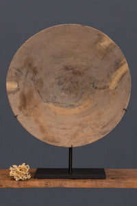 Large Mounted Gold Mining Pan from Borneo