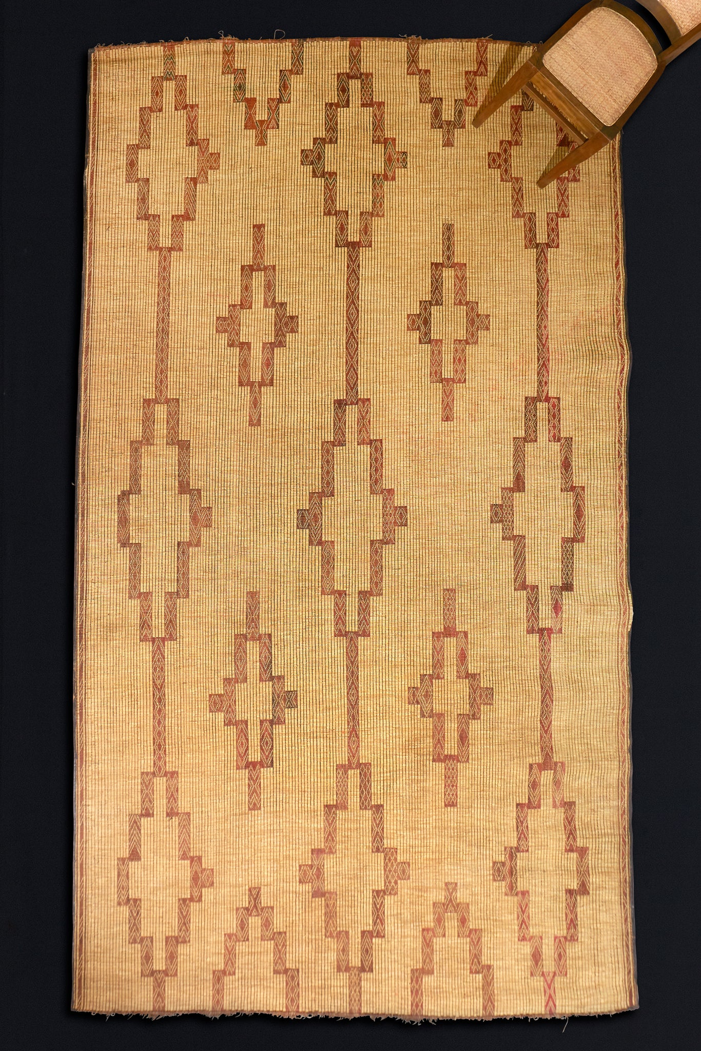 "Leather & Reed Tuareg Carpet (8' 6"" x 13' 3"")"