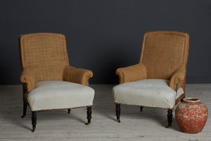 Pair of 19th Century French Upholstered Chairs