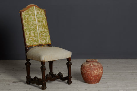 Set of 6 Late 19th Century French Side Chairs in Louis XIII Style