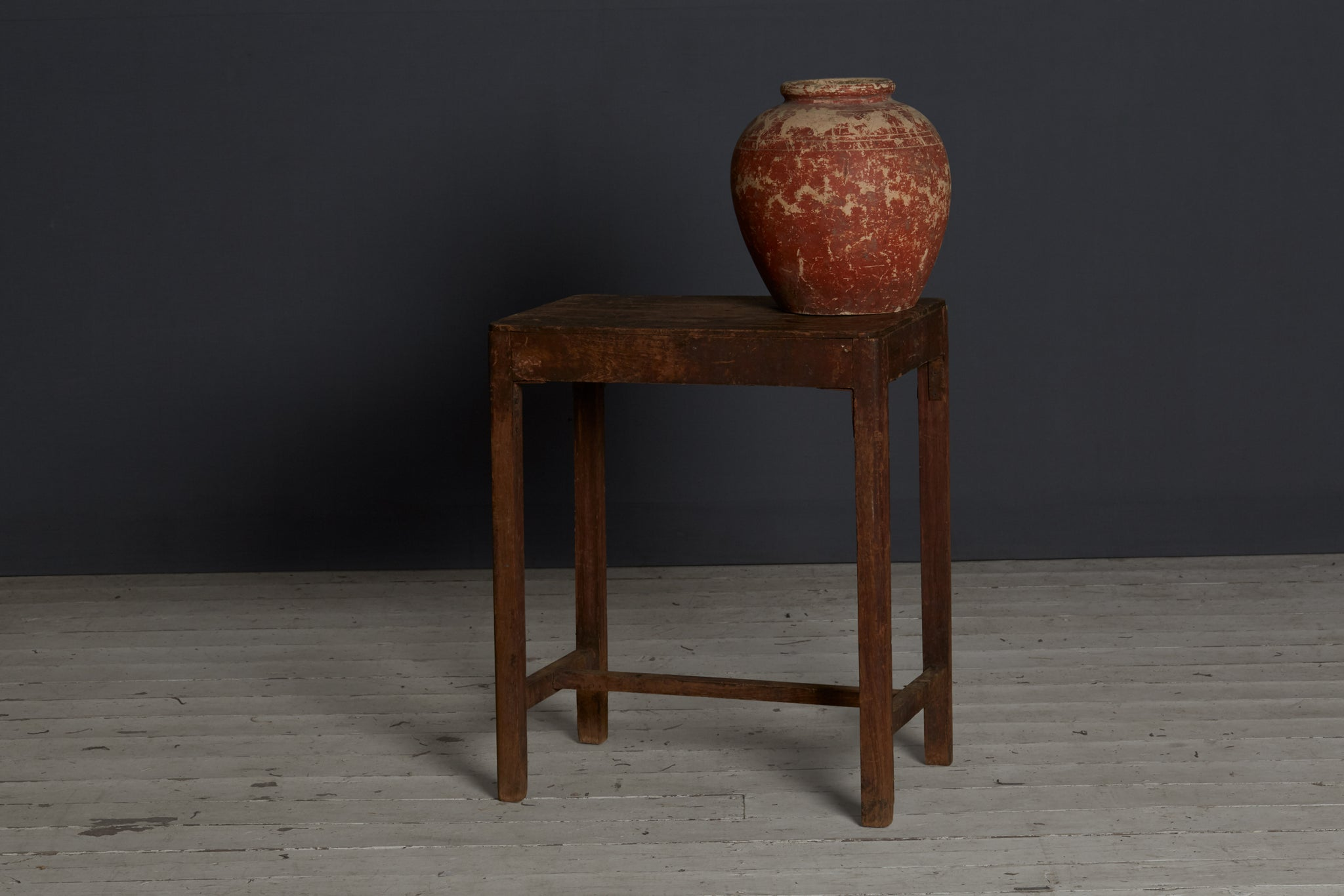 Small Teak Factory Table from Java