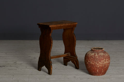 Tall Pine Italian 19th Century Bench