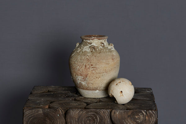 16th Century Chinese Export Shipwreck Pot with Shell Encrustations