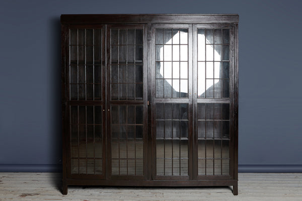 1930 Dutch Colonial Teak Cabinet from Java