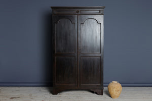 19th Century Ebonized Teak Dutch Colonial Cabinet from Java