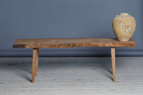 Teak Coffee Table with a Living Edge