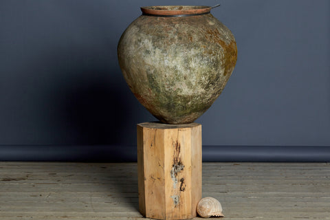 Beautiful Patina Classic Shaped Water Jar
