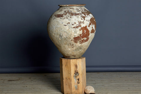 Large Beautifully Patinated 19th Century Water Jar