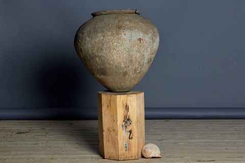 Large Javanese Water Jar with Beautiful Patina