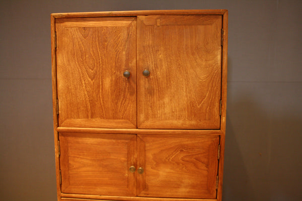Tall Mid Century Teak Cabinet from Java