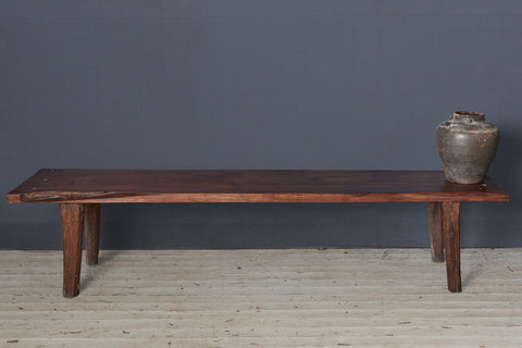 Flat Top Teak Bench from Borneo