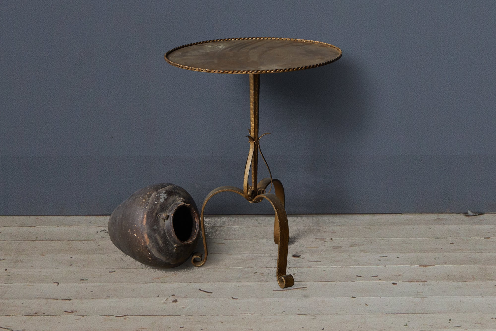 1940's Spanish Gilt Iron Table