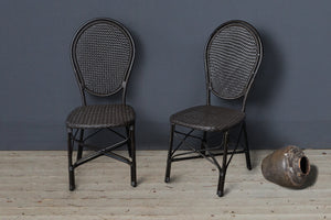 All Weather Rattan Side Chairs