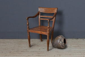 Simple Original Teak Raffles Chair