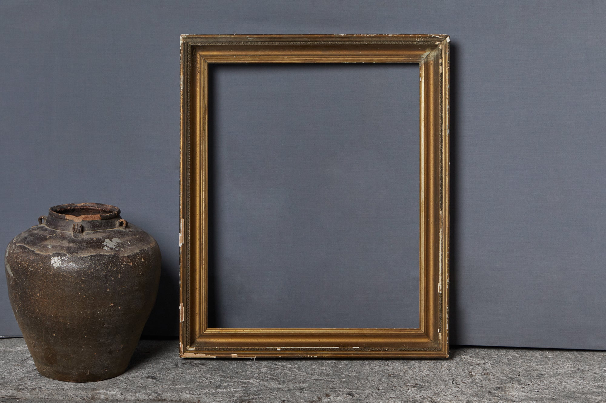 Small American Gilt Frame