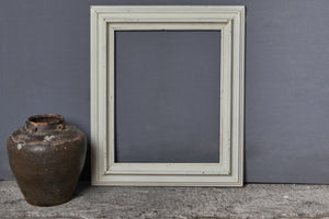 19th Century White Painted French Frame