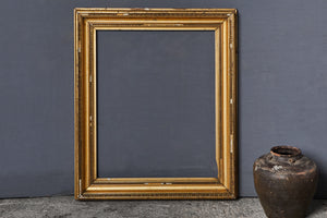19th Century American Gilt Frame with Some Losses