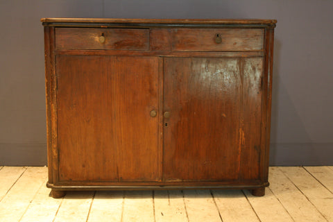 Dutch Colonial Teak Deco Buffet