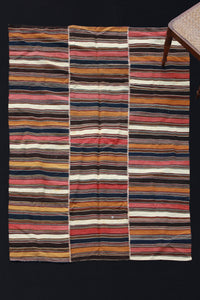 Serret With Thin Stripes (5' x 7')