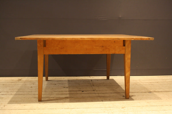 19th Century Square German Table