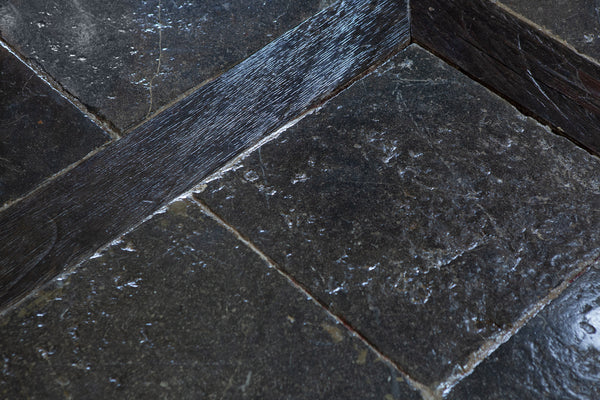 17th & 18th Century Belgian Blue Stone Floor