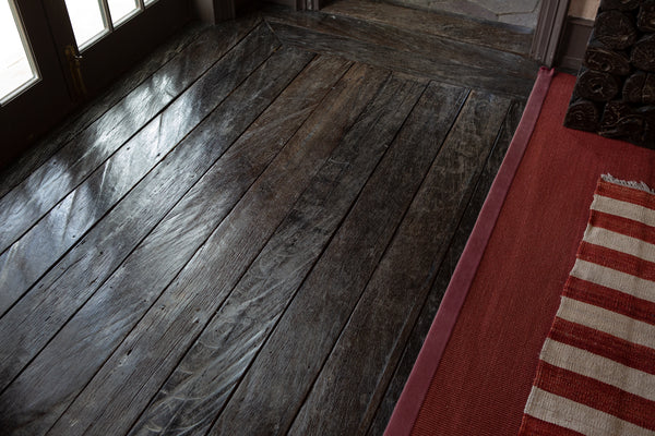 19th Century Ulin Floor from Borneo