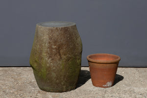 Tall Java Stone Stool