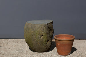 Medium Java Stone Stool