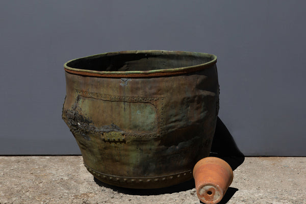 Extra Large English Copper Pot