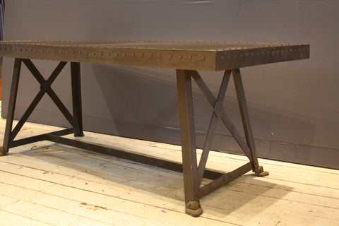 French Iron Dining Table