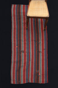 Acik Heybe With Red, Blue and Black Stripes