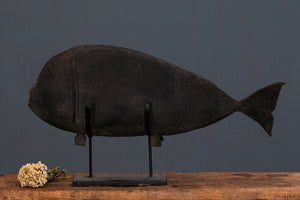 Woven Steel Mesh Ceremonial Fish from Sumba