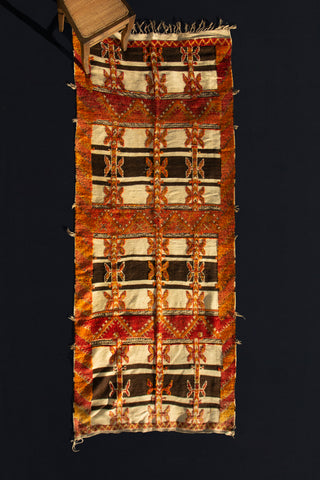 An Atlas Mountain Tribal Flatwoven Carpet