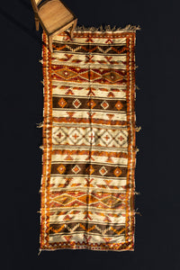 An Atlas Mountain Flatweave Tribal Carpet