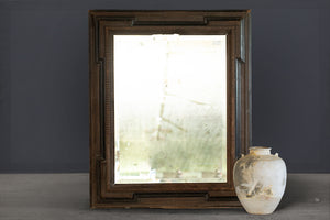 19th Century Flemish Style Beveled Mirror