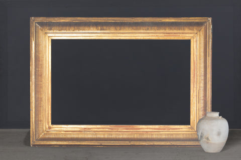 Large 19th Century Gilt American Landscape Frame