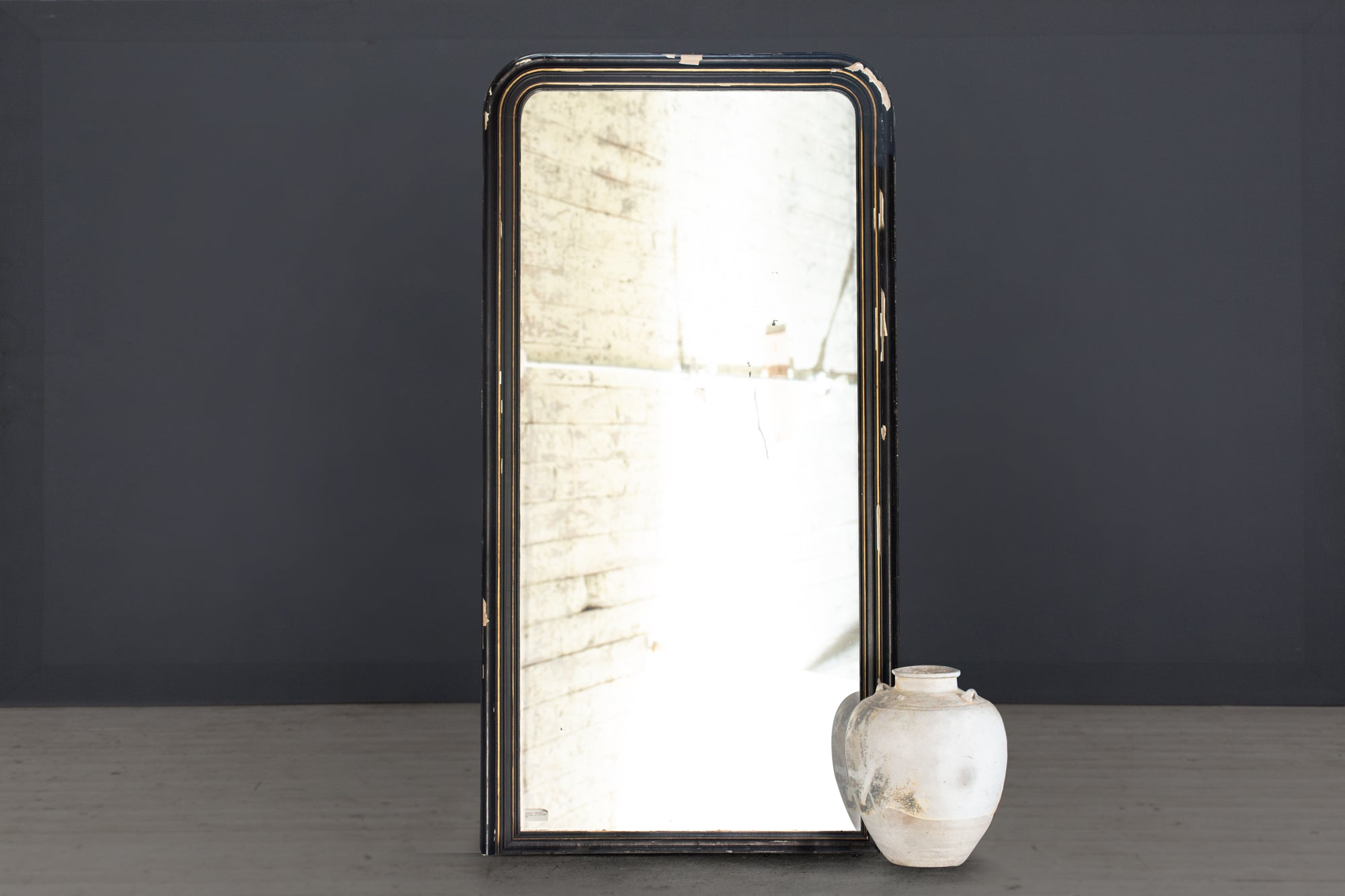 19th Century Late French Empire Pier Mirror
