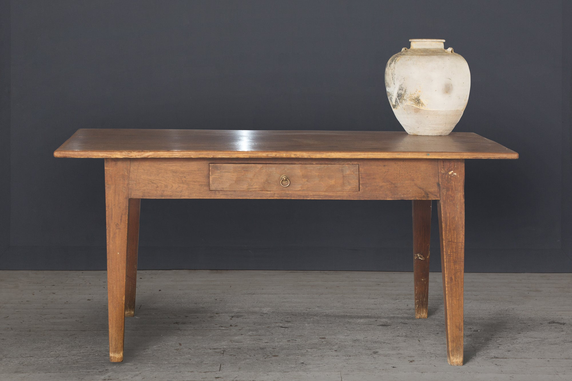 19th Century Dutch Colonial Teak Table