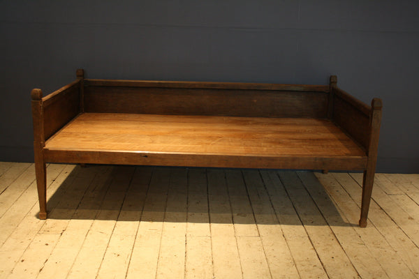 Panel Back Dutch Colonial Teak Day Bed