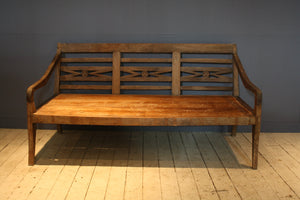 19th Century Dutch Colonial Teak Bench