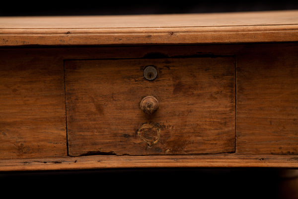 18th Century Dutch Colonial Teak Planters Desk from Batavia
