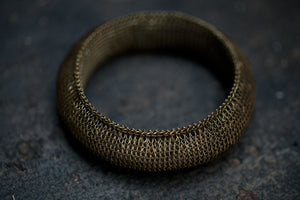 Knitted Steel Ceremonial Bracelette from Sumba
