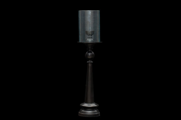 Tall Bronze Candle Lantern